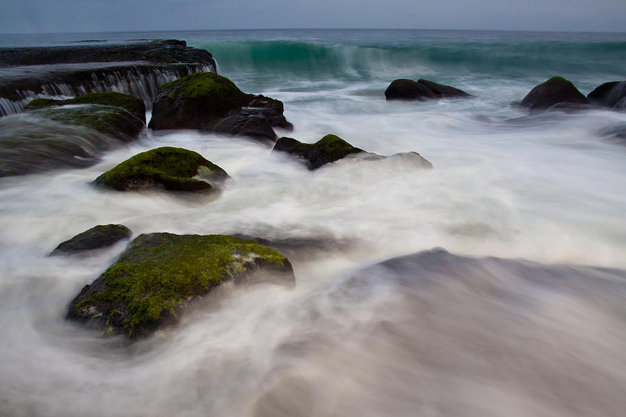 Rocks Photograph - Changing Tides by Andrew Raby