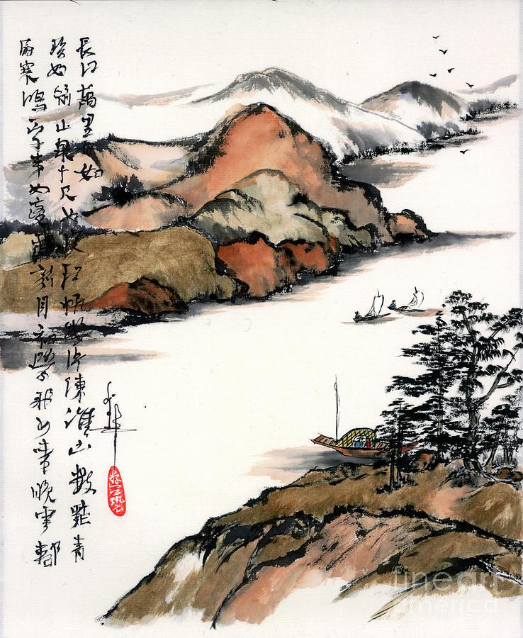 Changjiang River - C280 by LINDA SMITH