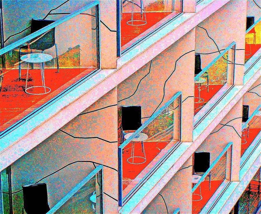 Mondrian Photograph - Channeling Mondrian  by Ira Shander