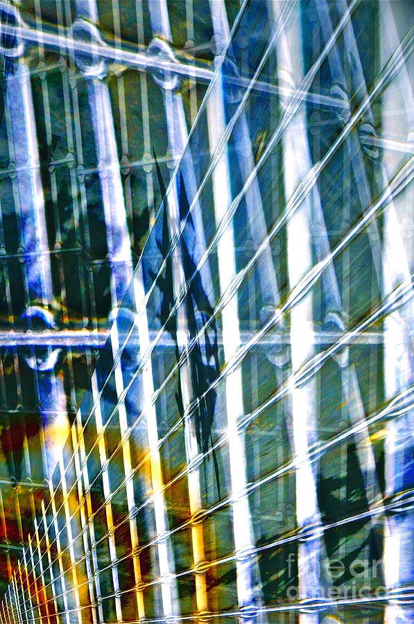 Metal Digital Art - Chaos by Gwyn Newcombe