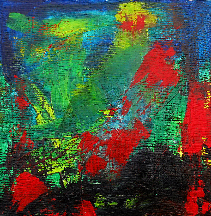 Expressionist Painting - Chaotic Hope by Patricia Awapara