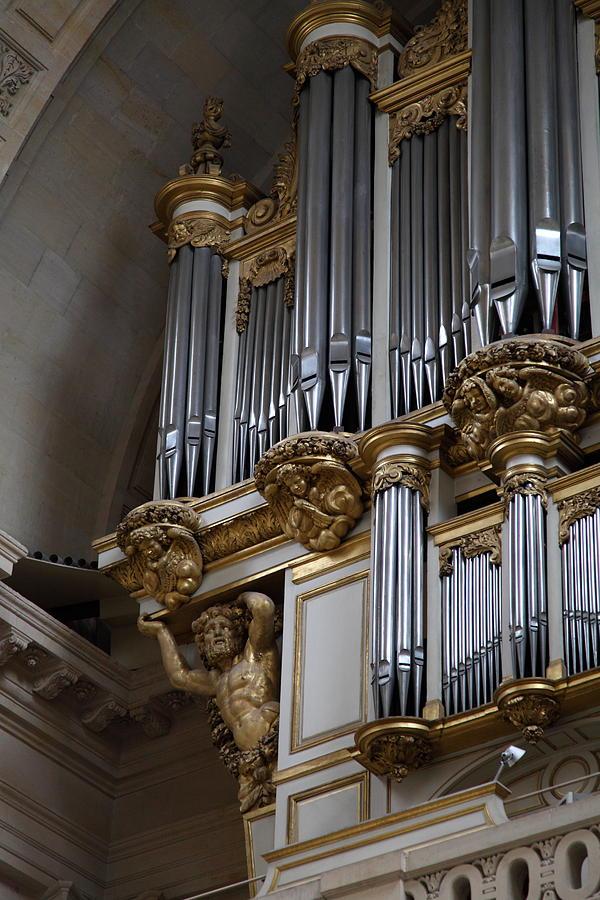 Paris Photograph - Chapel At Les Invalides - Paris France - 01135 by DC Photographer