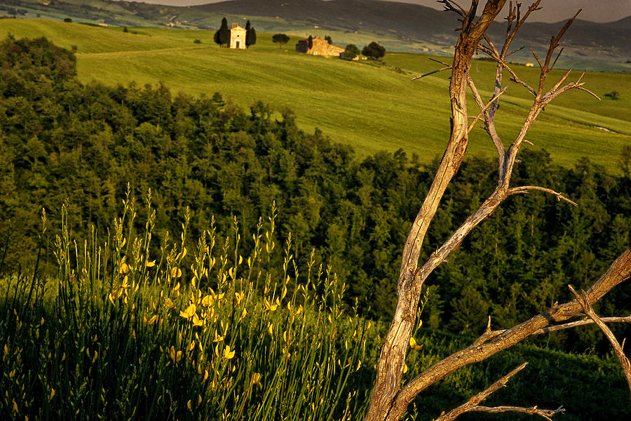 Italy Photograph - Chapel At Springtime by Andrew Soundarajan