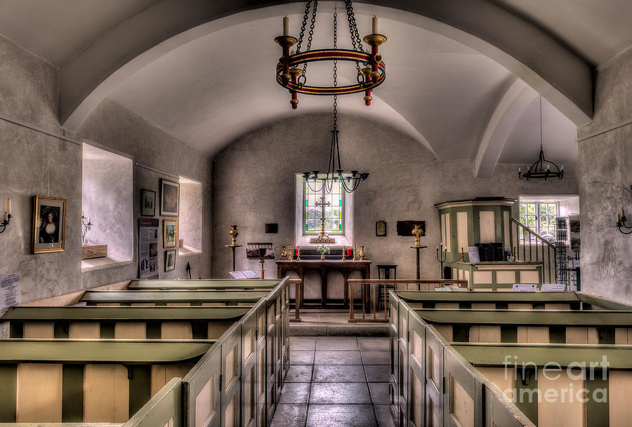 13th Century Photograph - Chapel In Wales by Adrian Evans