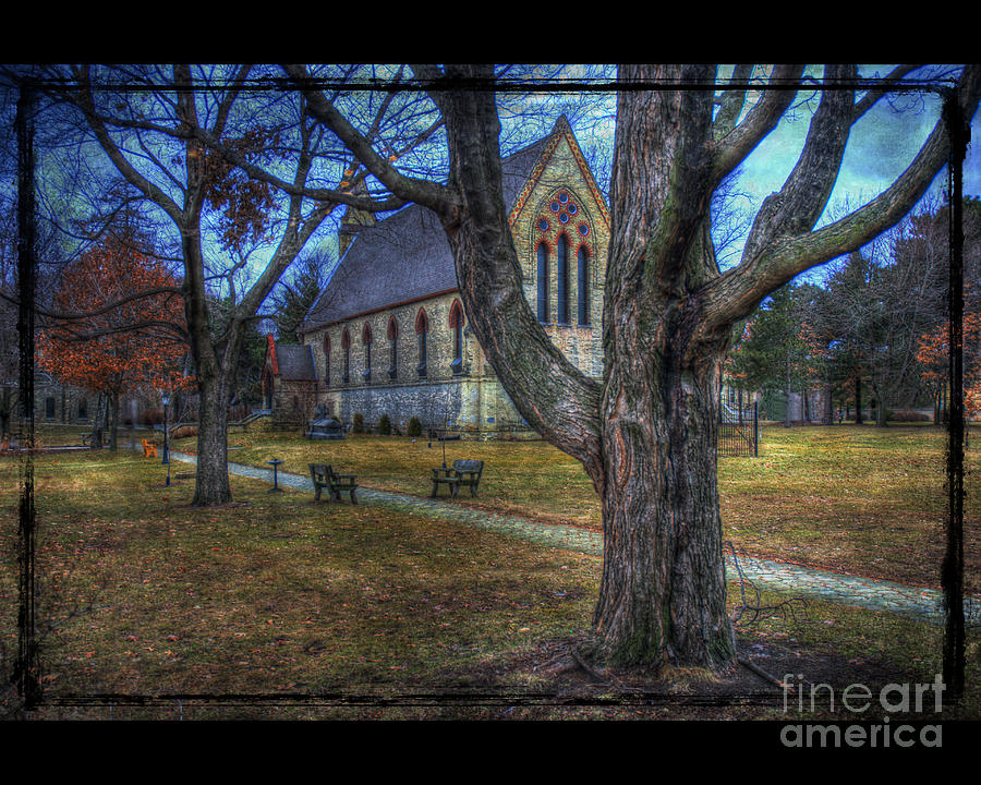 Chapel Photograph - Chapel by Jim Wright