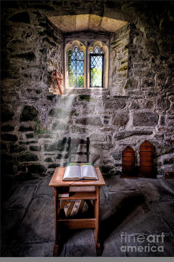 British Photograph - Chapel Light by Adrian Evans