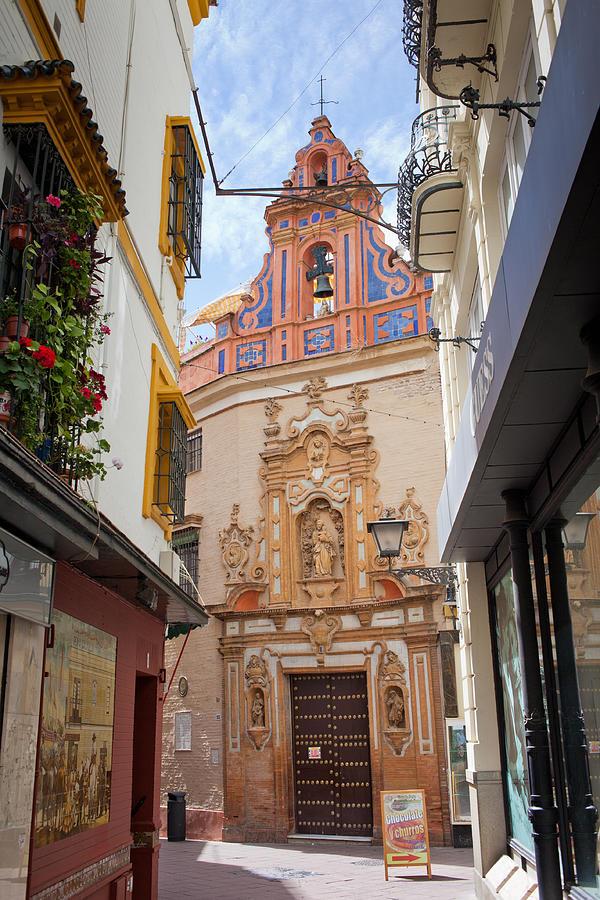 Chapel Photograph - Chapel of St. Joseph of Seville by Artur Bogacki