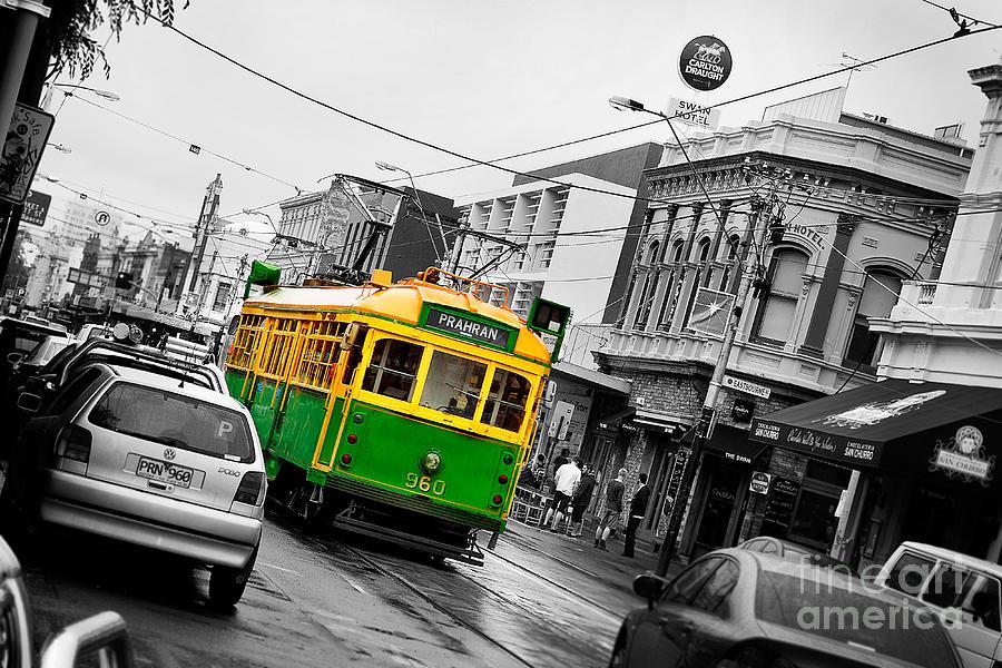 Australia Photograph - Chapel St Tram by Az Jackson