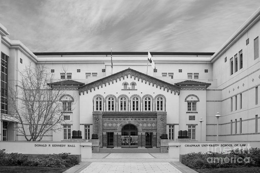 California Photograph - Chapman University Kennedy Hall Law School by University Icons