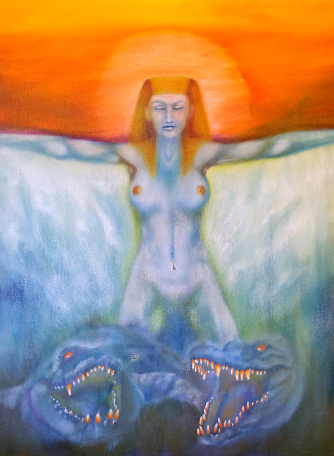 Major Arcana Painting - Chariot by Roger Williamson