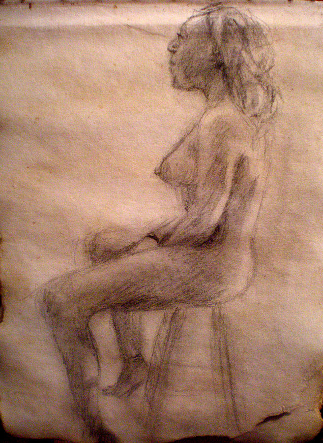 Nude Drawing - Charity Figure Drawing 3 by Steve Spagnola