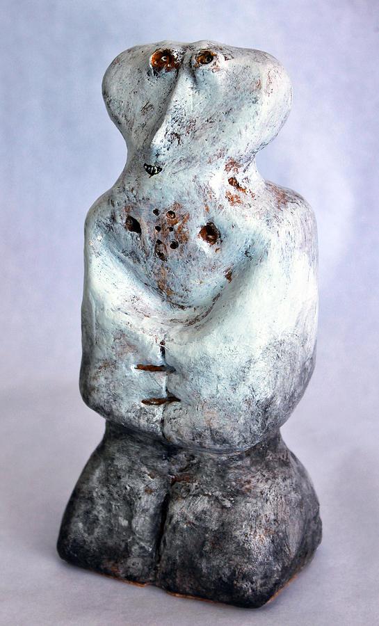 Plaster Sculpture - Charlatan No. 3 by Mark M  Mellon