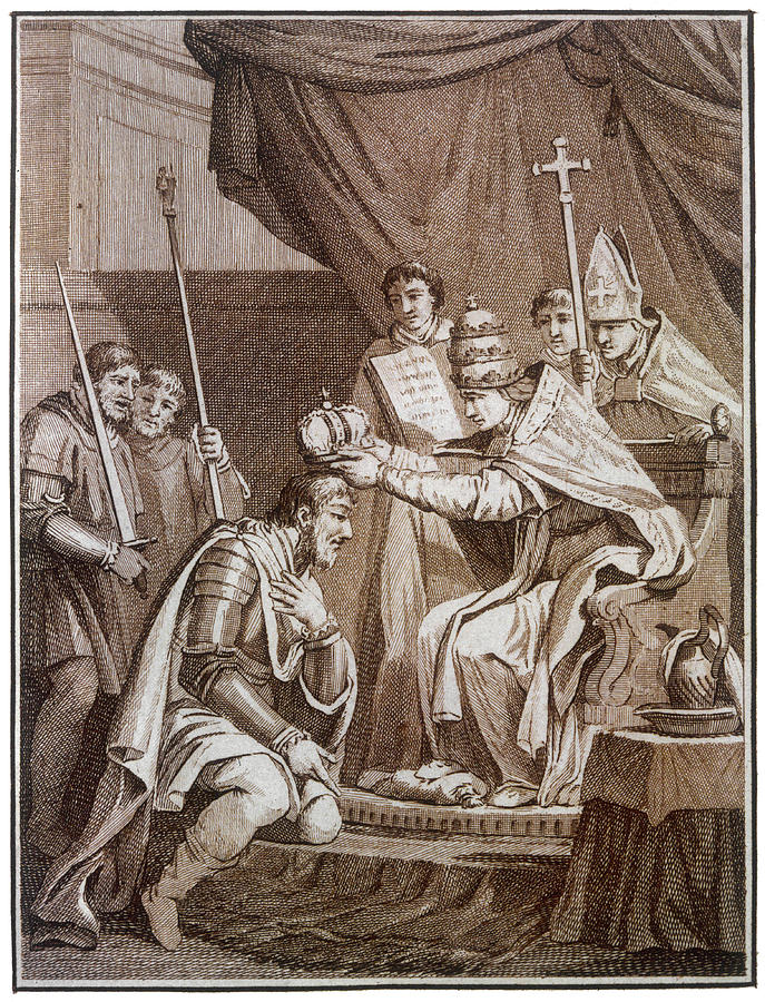 where was charlemagne crowned
