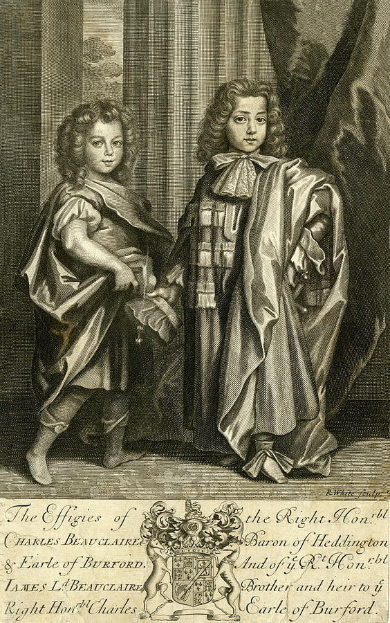 Sons Drawing - Charles Beauclerk, First Duke Of St by Mary Evans Picture Library