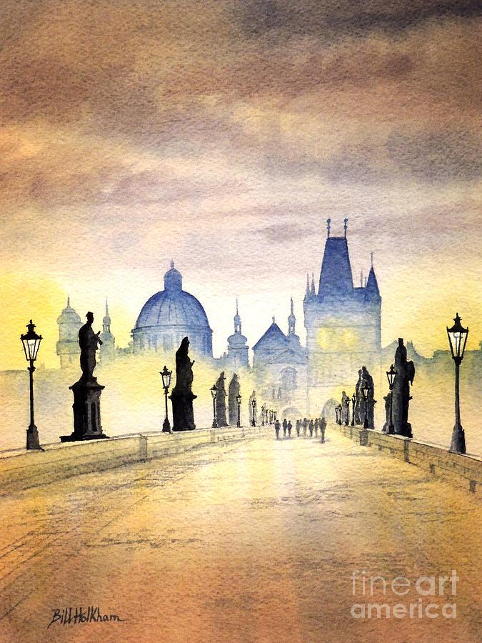 Charles Bridge Painting - Charles Bridge Prague by Bill Holkham