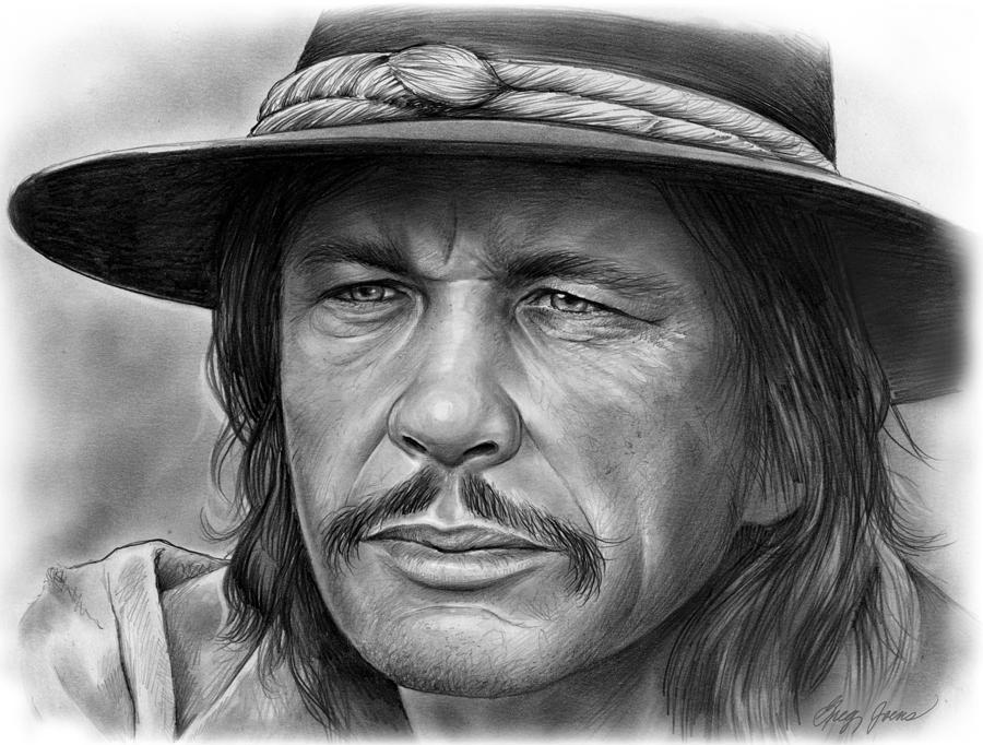 Charles Bronson Drawing