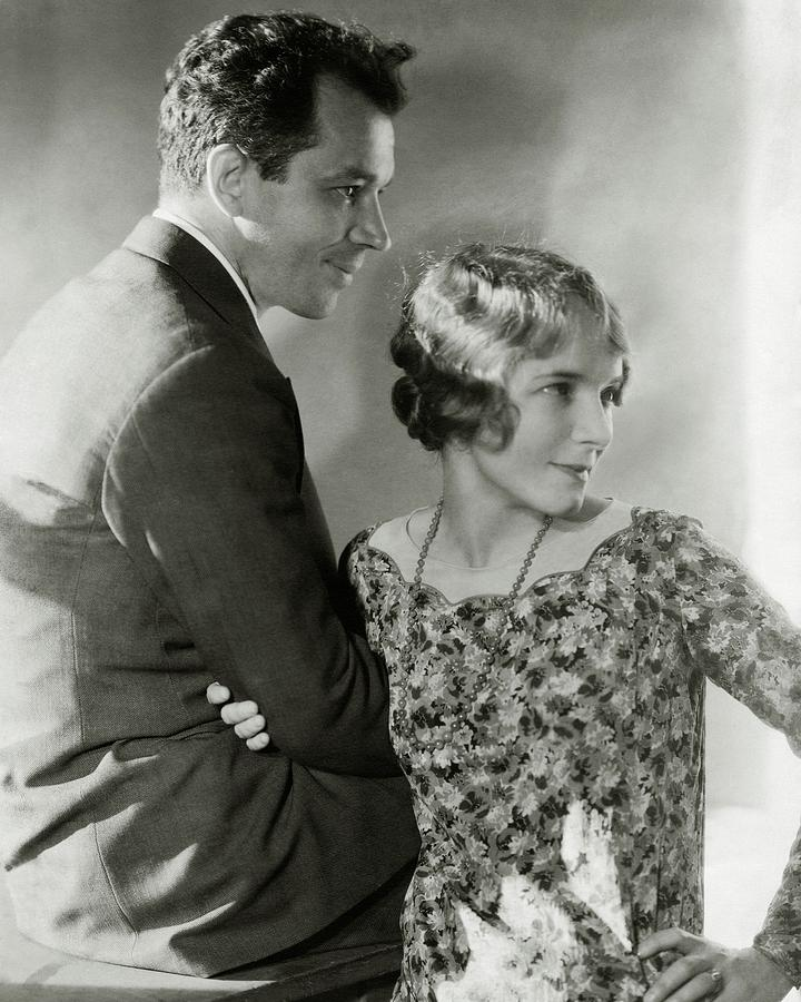 Charles Macarthur And Helen Hayes Photograph by Edward Steichen