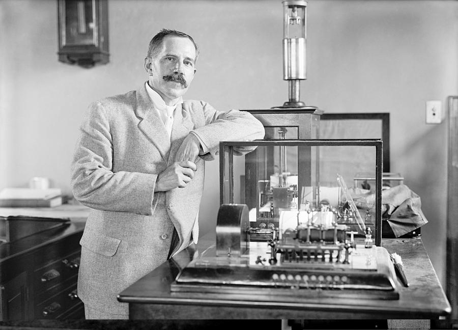 Equipment Photograph - Charles Marvin, American Meteorologist by Science Photo Library