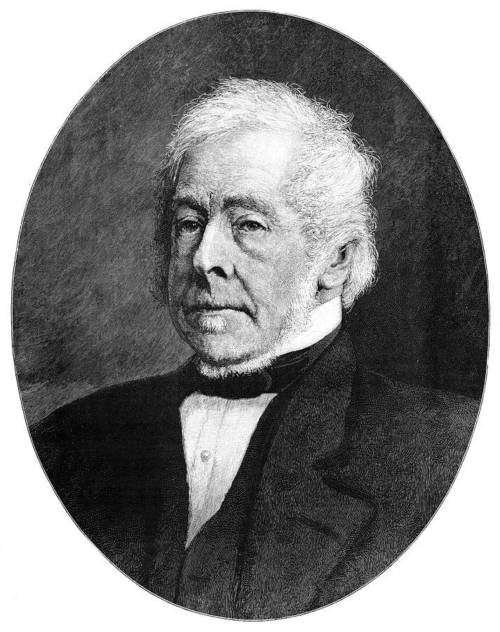 1895 Painting - Charles Pelham Villiers (1802-1898) by Granger