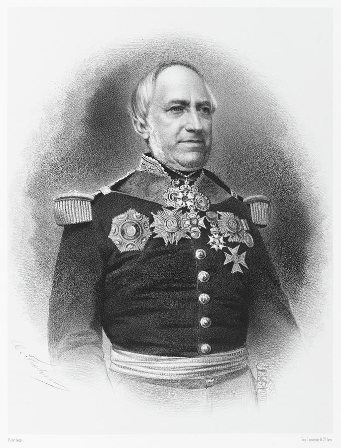 Charles Drawing - Charles Penaud  French Naval by Mary Evans Picture Library