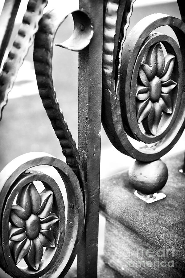 Charleston Iron Works Photograph - Charleston Iron Works II by John Rizzuto