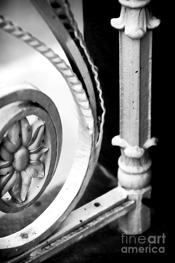 Iron Photograph - Charleston Iron Works by John Rizzuto