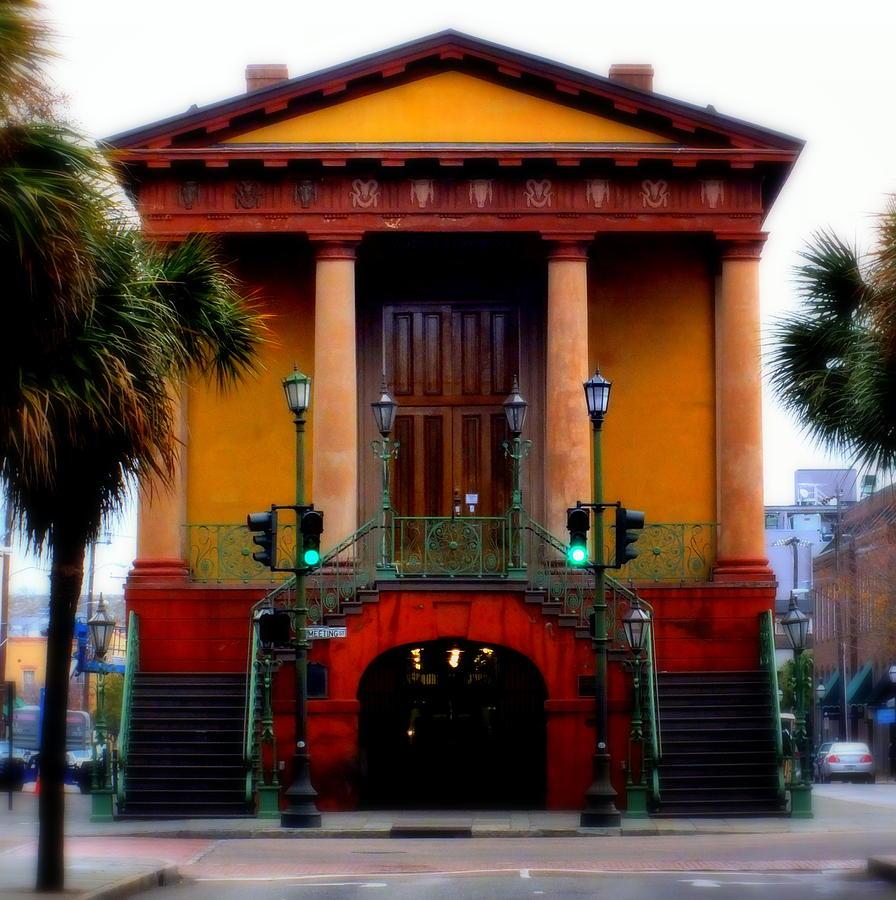 Charleston Architecture Photograph - Charleston by Karen Wiles