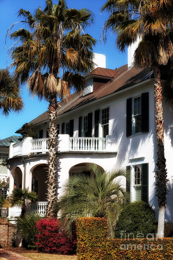 Charleston Living Photograph - Charleston Living by John Rizzuto