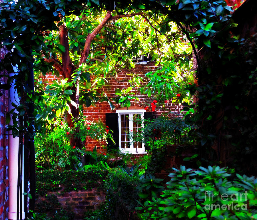 Charlestons Charm Photograph - Charlestons Charm And Hidden Gems  by Susanne Van Hulst