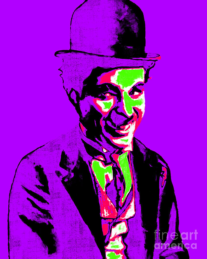 Charlie Photograph - Charlie Chaplin 20130212m78 by Wingsdomain Art and Photography