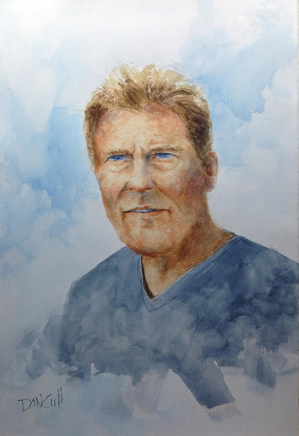 Portraits Painting - Charlie by Don Cull