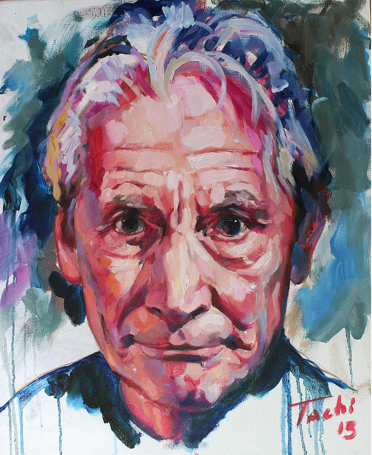 Charlie Watts Painting - Charlie Watts by Tachi Pintor