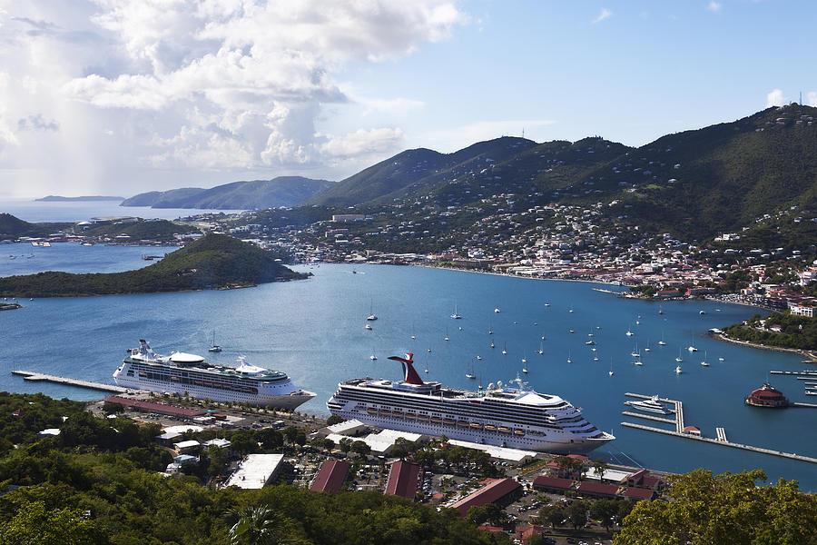Charlotte Amalie Photograph - Charlotte Amalie by Steve Taylor