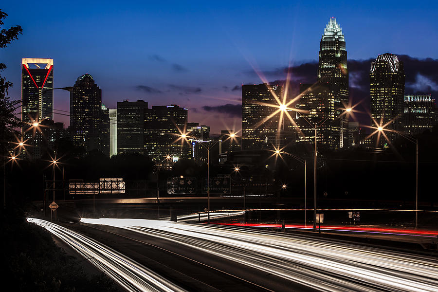 Charlotte Photograph - Charlotte Flow by Chris Austin
