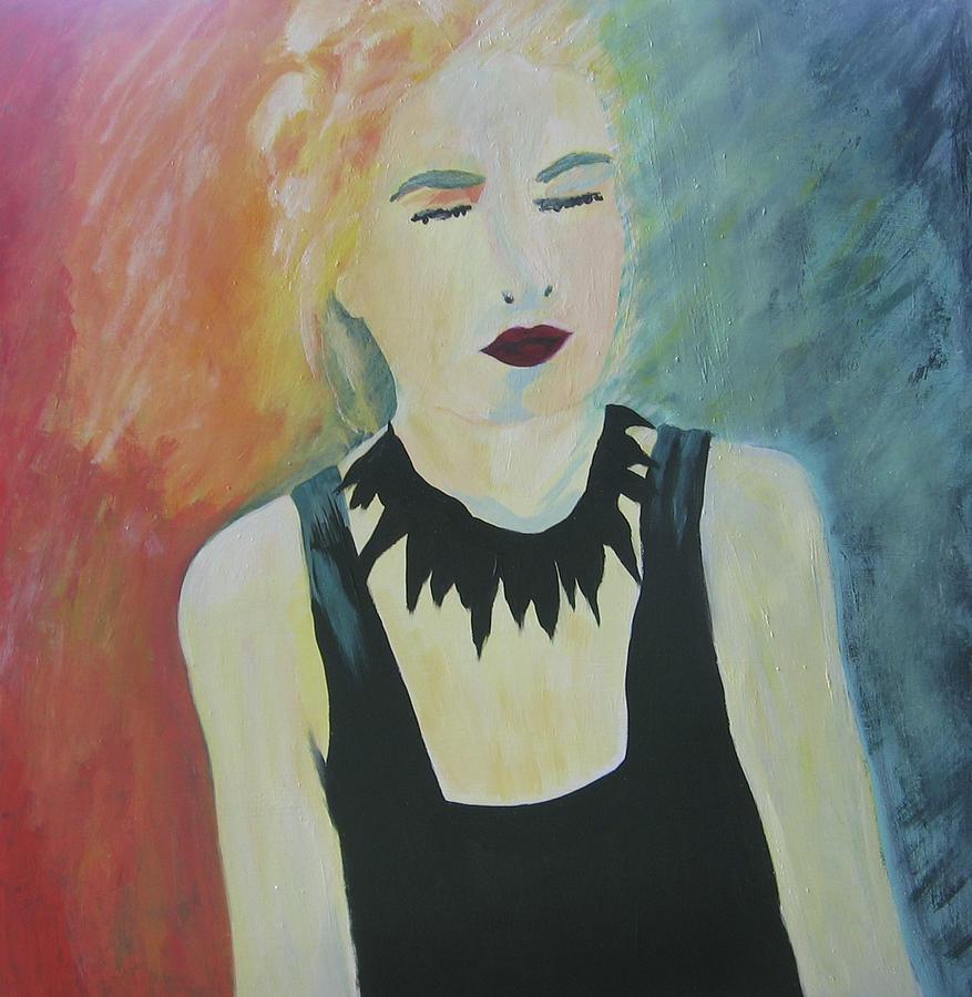 Portrait Painting - Charlotte by Ingrid Torjesen