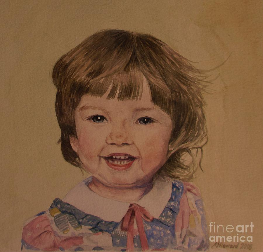 Charlotte Painting - Charlotte by Martin Howard