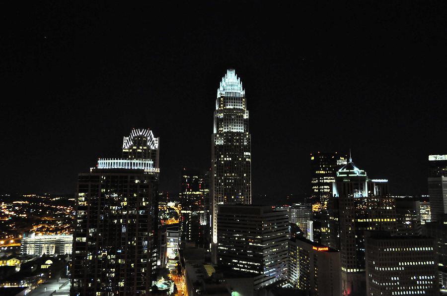Charlotte Digital Art - Charlotte Night Cnp by Jim Brage