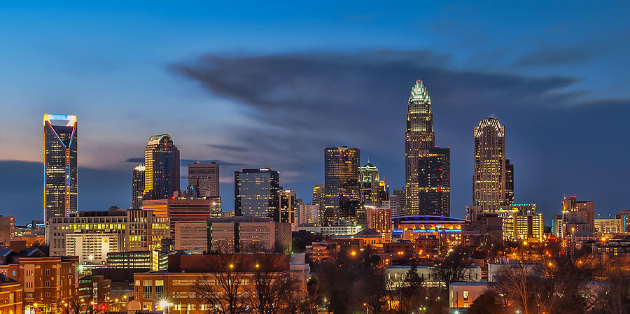 Charlotte Photograph - Charlotte North Carolina by Brian Young