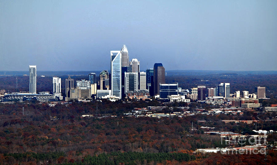 Scenic Tours Photograph - Charlotte by Skip Willits