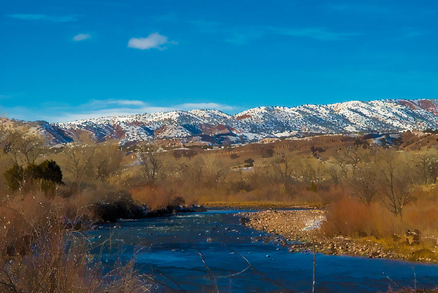 River Photograph - Charma River by Lou  Novick