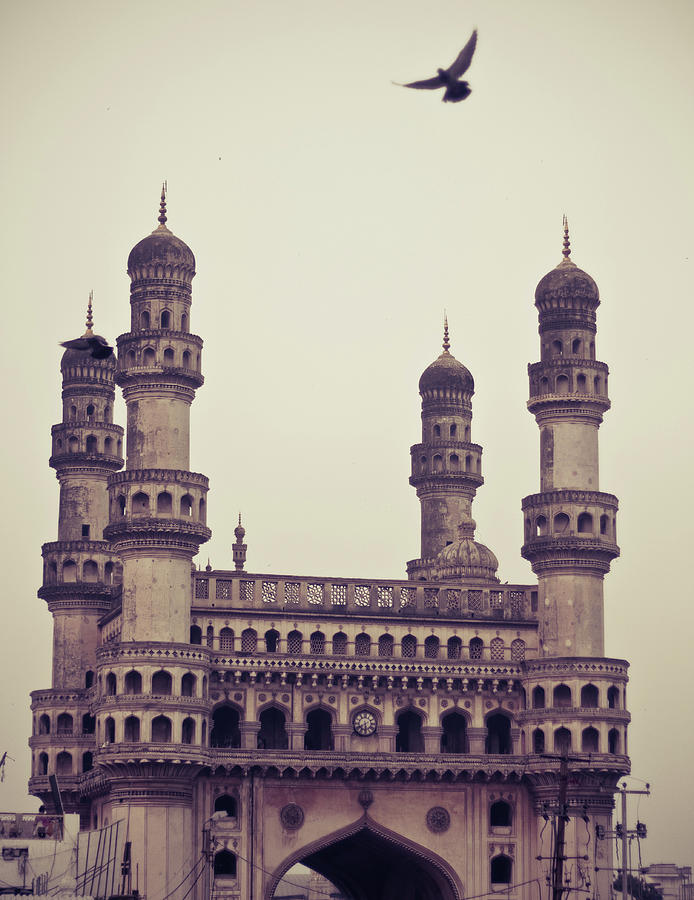 Charminar And The Pigeon Photograph by © Manogna Reddy