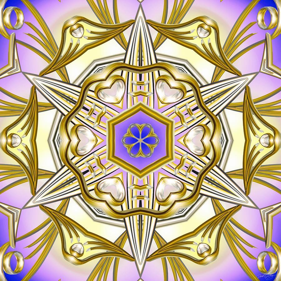 Sacredlife Mandalas Digital Art - Charming Intuition by Derek Gedney