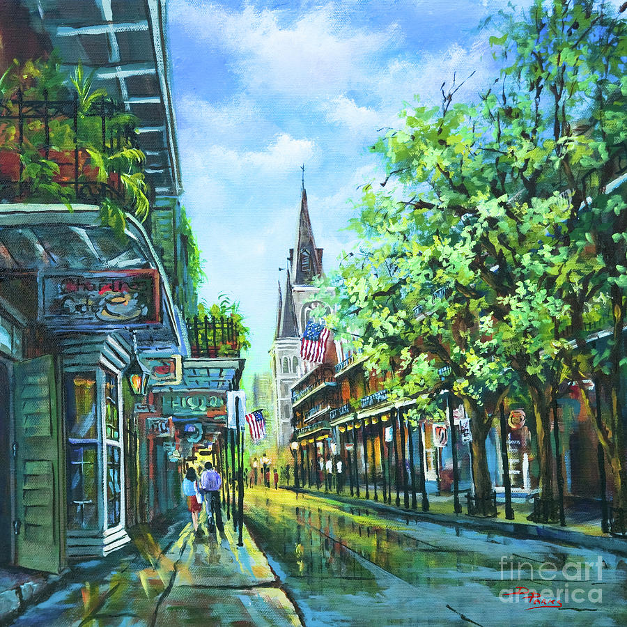 New Orleans Artist Painting - Chartres Afternoon by Dianne Parks