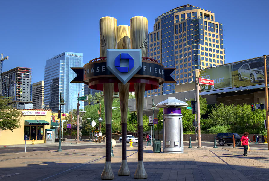 Chase Photograph - Chase Field by Ricky Barnard