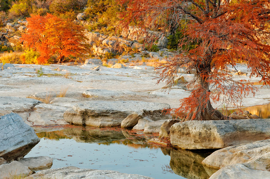 Pedernales Photograph - Chasing The Light At Pedernales Falls State Park Hill Country by Silvio Ligutti