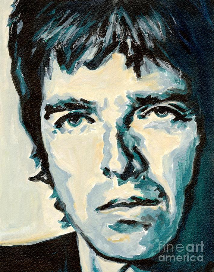 Noel Gallagher Painting - Noel Gallagher by Tanya Filichkin