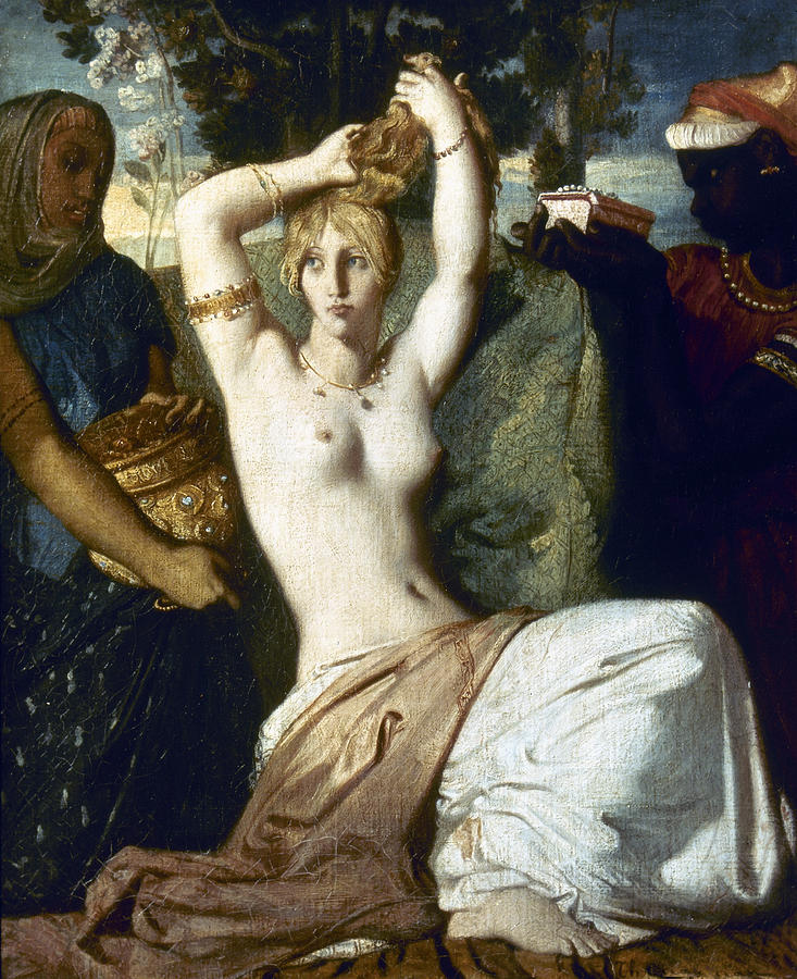 1841 Painting - Chasseriau Esther by Granger