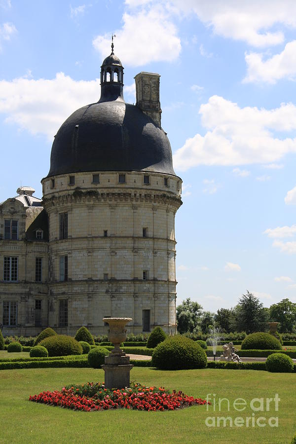 Palace Photograph - Chateau De Valencay by Christiane Schulze Art And Photography