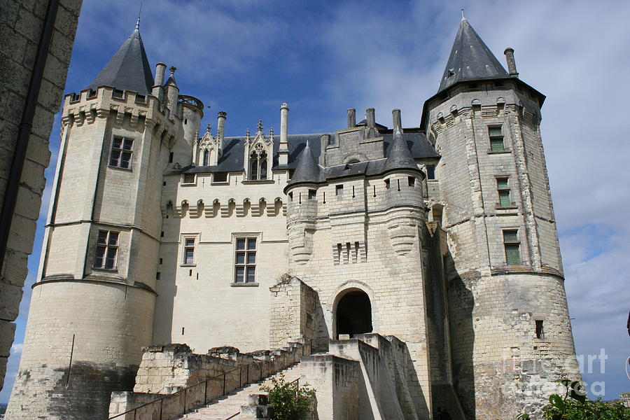 Castle Photograph - Chateau Saumur  by Christiane Schulze Art And Photography