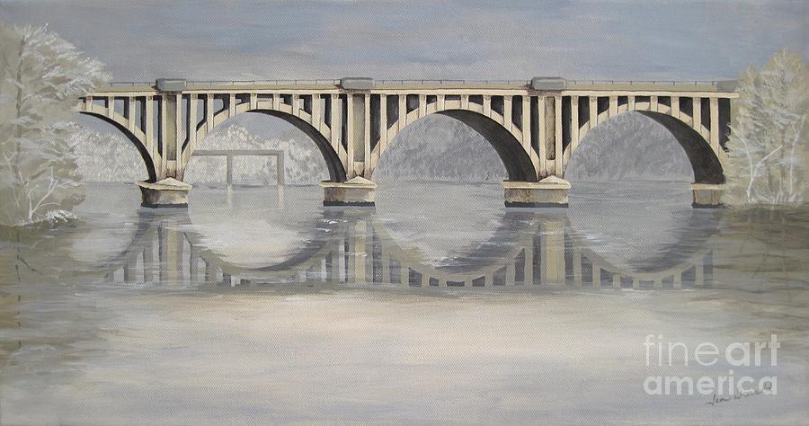 Bridge Painting - Chatham by Jennifer  Donald